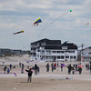 Kites Against Cancer benefit for Exeter Hospital's Beyond the Rainbow Fund on a windy Sunday 5-15-2015 @ Hampton Beach Seashell stage, Hampton Beach, NH.  Matt Parker Photos