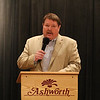 David Lang was the MC for the evening at a retirement party for Hampton Police Sergeant Steven Henderson on Friday @ the Ashworth By the Sea, Hampton Beach on 5-6-2016.  Matt Parker Photos