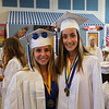 Molly Power, Maddie Anastasia prior to the start of the Winnacunnet Class of 2016 Graduation Cermony on Friday 6-17-2016 @ WHS.  Matt Parker Photos