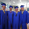 Will Saunders, Cole Parker, Jack Haraden and Patrick Witt prior to the start of the Winnacunnet Class of 2016 Graduation Cermony on Friday 6-17-2016 @ WHS.  Matt Parker Photos
