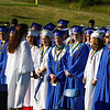 The graduating seniors during the processional march during the Winnacunnet Class of 2016 Graduation Cermony on Friday 6-17-2016 @ WHS.  Matt Parker Photos