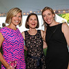 (L to R) Josie Rosenbleeth, Penny O'Sullivan and Claire Vadney pose for a photo at The Town of Stratham  NH 300th Birthday Anniversary Celebration Dinner Dance at Stratham Hill Park on Saturday June 25th, 2016.  Matt Parker Photos