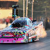 Courtney Force and her Traxxas Camero Funny Car accelerates off the starting line in the Qualifying Round 2 completing the run with a time of 3.915 seconds and a speed of 317.12 during Friday's racing at the NHRA New England Nationals on 6-3-2016 @ New England Dragway, Epping, NH.  Matt Parker Photos