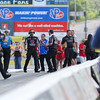 The Matco Tools Dragster team celebrates their win with other competitors in the Top Fuel Dragster class at the NHRA New England Nationals Finals on Monday 6-6-2016 @ New England Dragway, Epping, NH.  Matt Parker Photos