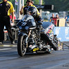 Bob Malloy accelerates his Top Fuel Harley down the track completed the run with a time of 6.465 seconds and a speed of 203.71during Friday's racing at the NHRA New England Nationals on 6-3-2016 @ New England Dragway, Epping, NH.  Matt Parker Photos