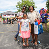 Joselyn, Janessalyn and  Mom Nina Jones pose for a photo at Sunday's Seacoast Salutes Military Appreciation Day sponsored by Seacoast Service Credit Union, Redhook Brewery and others on 7-24-2016, Redhook Brewery, Portsmouth, NH.  Matt Parker Photos
