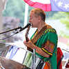"The band, ""Island Side"" plays at the Inaugural Jamaican Appreciation Day at the Hampton Falls Bandstand and Town Common on Thursday 8-25-2016.  Matt Parker Photos"