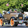 Stratham's oldest citizen Dot Clements rides in a Ford Model A r at Stratham's 300th Anniversary Parade held on Sunday, 9-25-2016, Stratham Town Center-RT 33.  Matt Parker Photos
