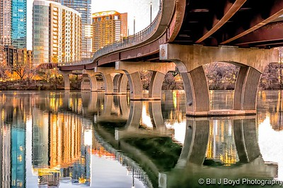 Pedestrian Bridge...Austin, Texas
