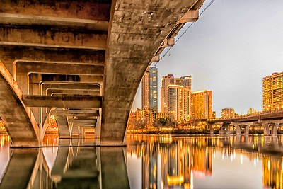 Lamar Street Bridge...Austin,Texas