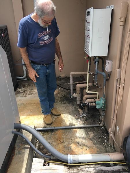 repairing pool water line