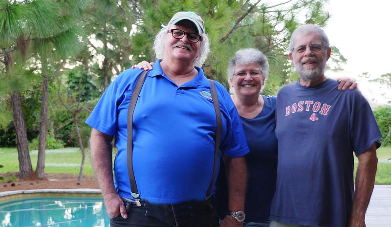 Steve, Joan, Jack
