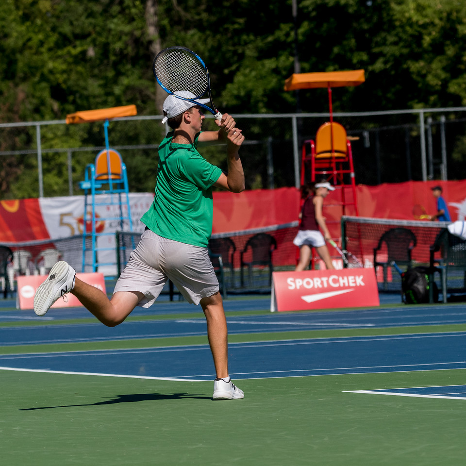 Tennis Male - Winnipeg Lawn Tennis Club - K Levit Photo