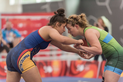 Wrestling Team Female - Canada Summer Games 2017 - Keith Levit Photograpy