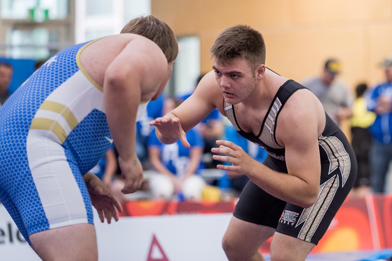 Wrestling Male - Team Manitoba vs Team Alberta - Keith Levit Photography