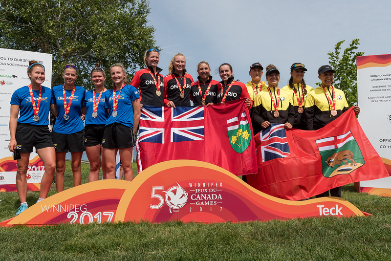 Medal Ceremony - Rowing  Keith Levit Photography