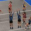 Indoor Volleyball Female - Team Nova Scotia vs Team British Columbia - K Levit Photo