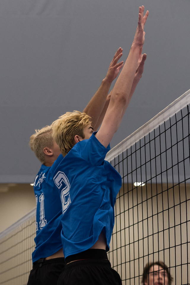 Indoor Volleyball Male - Team Alberta vs Team New Brunswick - K Levit Photo