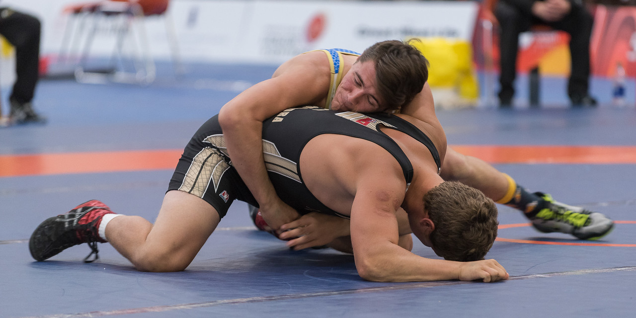 Wrestling Male - Team Manitoba vs Team Alberta - Keith Levit Photography