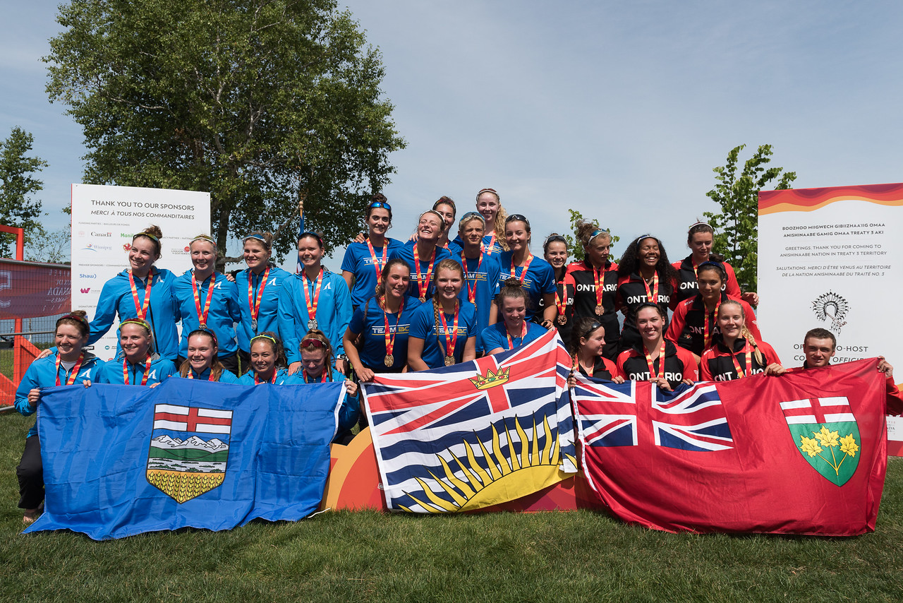 Medal Ceremony - Rowing -  Keith Levit Photography