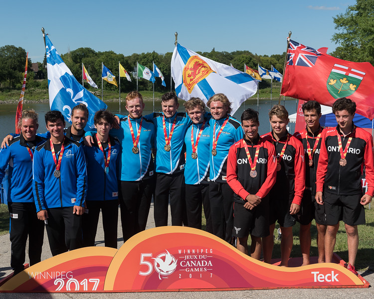 Kayak - Medal Ceremonies - K. Levit Photo