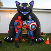 The Hampton Police Department sent over Spiderman and Captain America to help out at the Halloween in Hampton event sponsored by the Hampton Rec. Department on Friday October 27th at Tuck Field, Hampton, NH.  Matt Parker Photos