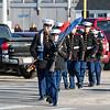 Winnacunnet MCJROTC at the American Legion Post 35 Veterans Day Ceremony at the Marine Memorial on Saturday 11-11-2017 @ Hampton Beach, Hampton, NH.  Matt Parker Photos