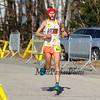 Derrick Hamel #822 of Stratham, NH heads into the finish taking 3rd place with a time of 1:13:46 at the 12th Annual 2017 Seacoast Half Marathon on Sunday, 11-12-2017, Portsmouth, NH.  Matt Parker Photo
