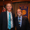 Rotary Club President Bill McGowan and Past-President David Longo pose for a photo prior to the The Rotary Club of Hampton awards the 2017 Distinguished Citizen of the Year to the Marelli Family at the Ashworth By The Sea on Tuesday, 11-14-2017, Hampton Beach, NH.  Matt Parker Photos