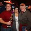 Nate Ducharme of Bedford Fire with his Mom and Dad at the 2017 Hampton Firefighters Toy Bank Annual Chili Cook Off on Thursday at Wally's Pub on 11-16-2017, Hampton Beach, NH.  Matt Parker Photos