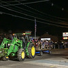 A John Deere tractor towing a hay wagon from Hidden Brook Farm takes a group on a hay ride at the 2017 Annual Christmas Tree Lighting at the Gazebo at Marelli Square sponsored by the Hampton Parks & Recreation Department on Friday Night, Hampton, NH, 12-1-2016.  Matt Parker Photos