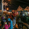 Hay rides by Hidden Brook Farm on a wagon pulled by a tractor at the 2017 Annual Christmas Tree Lighting at the Gazebo at Marelli Square sponsored by the Hampton Parks & Recreation Department on Friday Night, Hampton, NH, 12-1-2016.  Matt Parker Photos