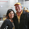 Jessica Carbonneau and Rob Ficara event organizers at the 2017 Richie McFarland Children's Center presents The Boston Bruins Alumni vs Team Richie charity Hockey event on Saturday 12-16-2017 @ The Rinks at Exeter.  Matt Parker Photos