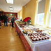 Tables of food at the 2017 Lights 4 Lives, Action for Aidan community fundraiser sponsored by the Stratham Volunteer Fire Department on Sunday 12-17-2017.  Matt Parker Photos