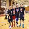 Team BAAM! were the 5th and 6th grade champions at the 2017 Dana Farber Marathon Challenge 3-on-3 Basketball fundraising tournament on Saturday 2-4-2017 at Portsmouth High School.  Matt Parker Photos