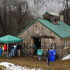 "The, ""Sugar Shack"" at the Lincoln Akerman School 4th grade ""Sugaring-Off"" Maple Syrup Party on Saturday 3-25-2017 @ Hampton Falls, NH.  Matt Parker Photos"