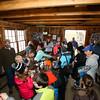 "The ""Sugar Shack"" was a full house at the Lincoln Akerman School 4th grade ""Sugaring-Off"" Maple Syrup Party on Saturday 3-25-2017 @ Hampton Falls, NH.  Matt Parker Photos"