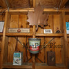 "Wall display of antique maple syrup containters at the Lincoln Akerman School 4th grade ""Sugaring-Off"" Maple Syrup Party on Saturday 3-25-2017 @ Hampton Falls, NH.  Matt Parker Photos"