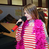 "6 year old Raegan Fuller sings ""Dangerous Woman"" during her karaoke performance at  Sunday's benefit for 9 year old Ciara Brill who was diagnosed with DIPG,  brain cancer, with family, friends and community on 3-26-2017 @ Portsmouth High School.  Matt Parker Photos"