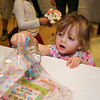 2-1/2 year old Hazel Wheeler puts her raffle ticket in a chance to win Water Country tickets at  Sunday's benefit for 9 year old Ciara Brill who was diagnosed with DIPG,  brain cancer, with family, friends and community on 3-26-2017 @ Portsmouth High School.  Matt Parker Photos
