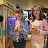 "6 year old Sophia and sister 8 year old Vanessa Smith from Gilford enjoy their ""Konia Ice"" at  Sunday's benefit for 9 year old Ciara Brill who was diagnosed with DIPG,  brain cancer, with family, friends and community on 3-26-2017 @ Portsmouth High School.  Matt Parker Photos"