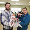 Congratulations go to Michael and Stacey Friedman with their newborn, 2 week old Mirabel,  and older son August as they pose for a photo at the Brentwood Recreation Department Egg Hunt and Easter Bunny Breakfast on Saturday 4-15-2017, Brentwood, NH.  Matt Parker Photos