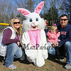 Jennica and Steven Piechuch with 2 year old Mila with the Easter Bunny at the Brentwood Recreation Department Egg Hunt and Easter Bunny Breakfast on Saturday 4-15-2017, Brentwood, NH.  Matt Parker Photos