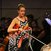 UNH Symphony Orchestra presents Peter and the Wolf with members of the UNH Dance Department and narrated by David Ripley on Thursday 4-27-2017 @ Johnson Theater, UNH.  Matt Parker Photos