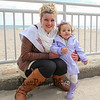 Miss Hampton Beach 2016/2017 Brooke Riley holds 2 year old Kiana Landry of Derry at the 2017 Annual Hampton Beach Easter Egg Hunt sponsored by The Hampton Recreation Department on Saturday 4-8-2017, Hampton Beach, NH.  Matt Parker Photos