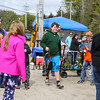"""The crowd clears the way for Connar Binette and his 16.5"""" fish as he heads to the awards table at the 2017 Hampton Fishing Derby sponsored by the Hampton Rec Department on Saturday 5-13-2017 @ Batchelder Pond, Hampton, NH.  Matt Parker Photos"""