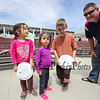 Tim Savoy of Manchester brought his 3 foster children to the beach to see the kites at the Kites Against Cancer to benefit The Beyond the Rainbow Fund of Exeter Hospital on Sunday at the Seashell Stage, Hampton Beach on 5-21-2017.  Matt Parker Photos