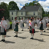 The Creagan More Band performed during the Newfields Memorial Day ceremony and parade on Saturday 5-27-2017.  Amy Sununu and Natalie Fream Photos