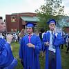 Winnacunnet Class of 2017 Graduation Ceremony on Friday June, 9th, 2017 @ WHS.  Matt Parker Photos