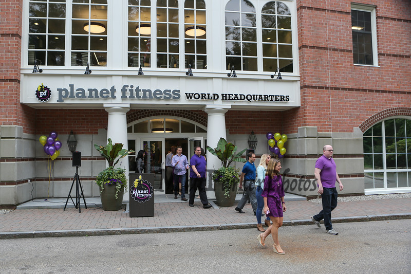 Grand Opening and Ribbon Cutting of the new Planet Fitness World Headquarters, 4 Liberty Lane West, Hampton, NH on Thursday 7-27-2017.  Matt Parker Photos